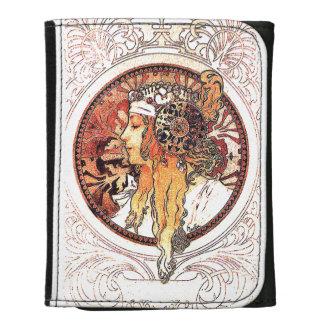 Art Nouveau Women Twenties Floral Wallet