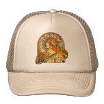 Art Nouveau Zodiac Mesh Hats