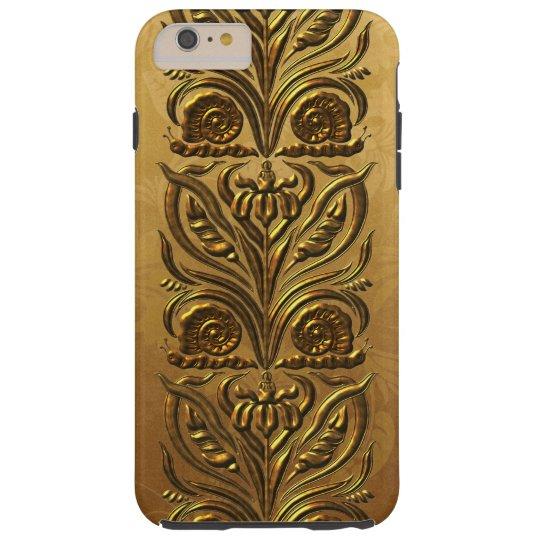 Art Noveau Gold Tough iPhone 6 Plus Case