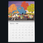 "Art of a Coonhound 2020 Calendar<br><div class=""desc"">Art of a Coonhound 2020 Calendar</div>"