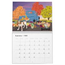 Art of a Coonhound 2020 Calendar