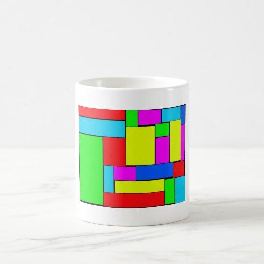 art of abstract coffee mug