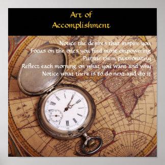 Art of Accomplishment Poster