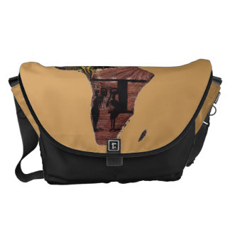 Art of Africa Courier Bag
