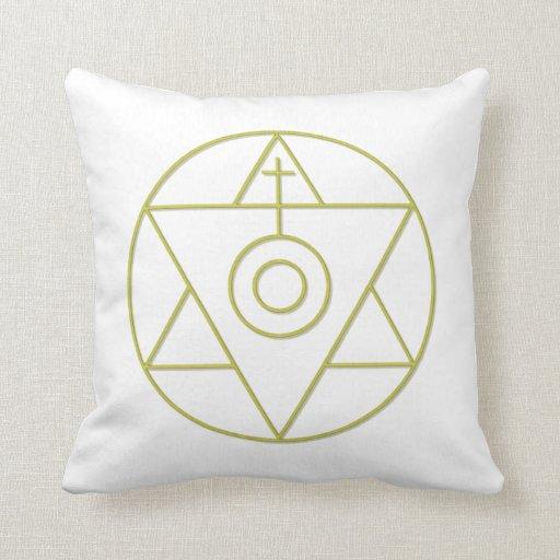 Art Of Alchemy Throw Pillows