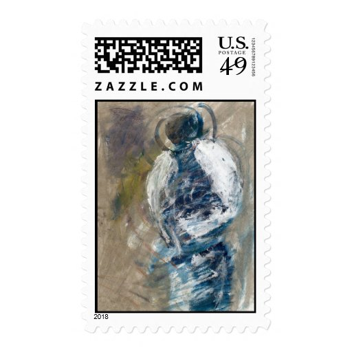 Art of an Angel Postage Stamps