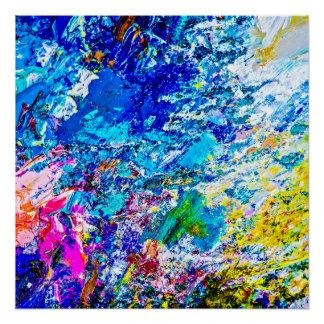 Paint Palette Posters | Zazzle