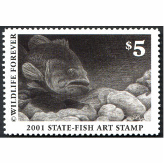 Art of Conservation Stamp – 2001 Statuette