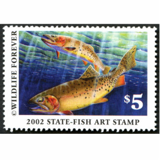 Art of Conservation Stamp – 2002 Cutout