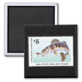 Art of Conservation Stamp - 2006 Magnet