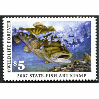 Art of Conservation Stamp - 2007 Cutout
