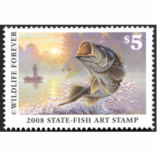 Art of Conservation Stamp - 2008 Statuette