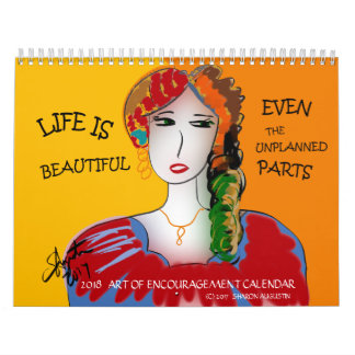 ART OF ENCOURAGEMENT - 2018 CALENDAR V2