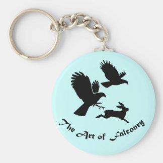 Art of Falconry - Harris Hawks Keychain