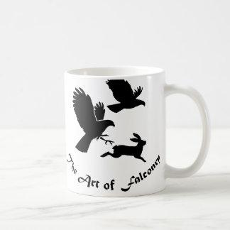 Art of Falconry - Harris Hawks Classic White Coffee Mug