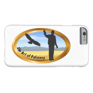 Art of Falconry - Oval Barely There iPhone 6 Case