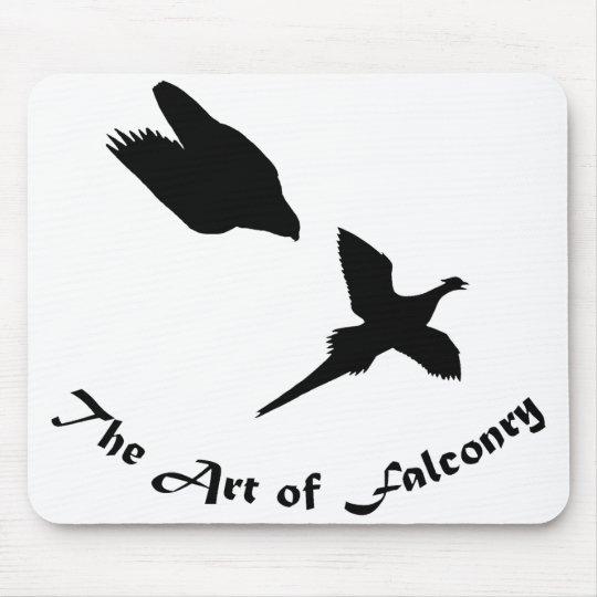 Art of Falconry- Peregrine Falcon Mouse Pad