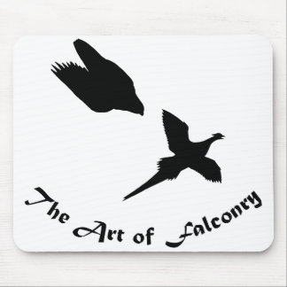 Art of Falconry- Peregrine Falcon Mouse Pad