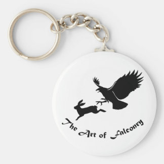 Art of Falconry - Red Tail Hawk Keychain
