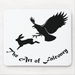 Art of Falconry - Red Tail Hawk Mouse Pad
