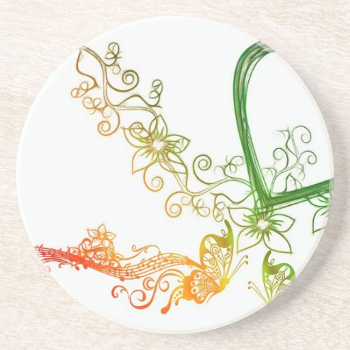 Art of Flower Coasters