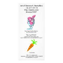 Art of Ganene K. Bestsellers Advert Rack Card
