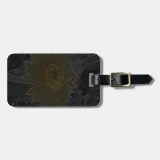 Art of Helianthus Travel Bag Tags