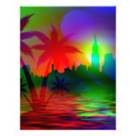 Art of Holiday Color Letterhead