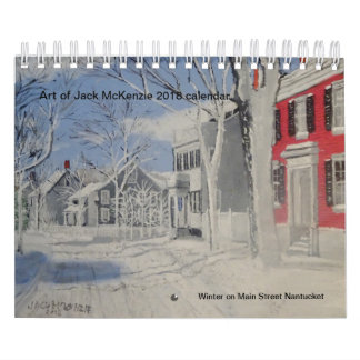 Art of Jack Mckenzie 2018 Calendar
