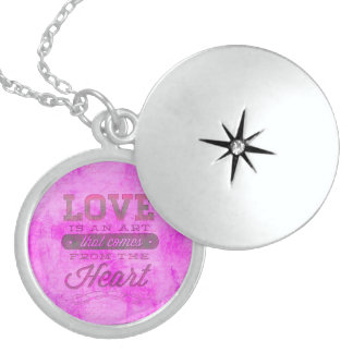 Art of Love Sterling Silver Necklace
