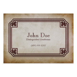 Art of Manliness Framed Calling Card Large Business Card