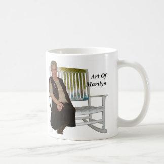 Art Of Marilyn Classic White Coffee Mug
