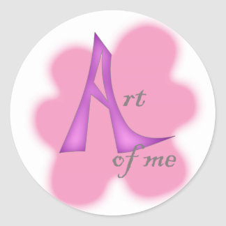 Art of Me Classic Round Sticker