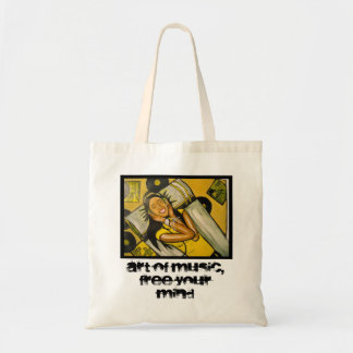 Art of music canvas bags