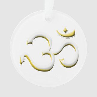 Art of OM / AUM Symbol Style Always in Fashion Ornament