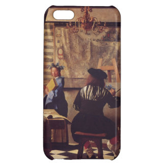 Art Of Painting by Johannes Vermeer Cover For iPhone 5C