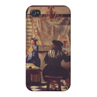 Art Of Painting by Johannes Vermeer iPhone 4/4S Cover