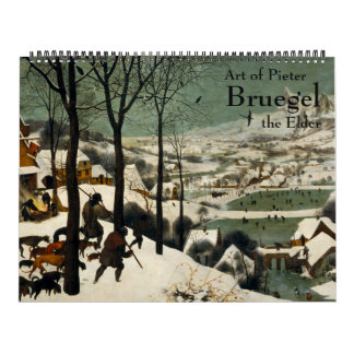 Art of Pieter Bruegel the Elder Calendar