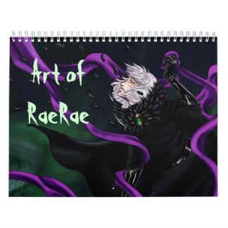 Art of RaeRae Calendar