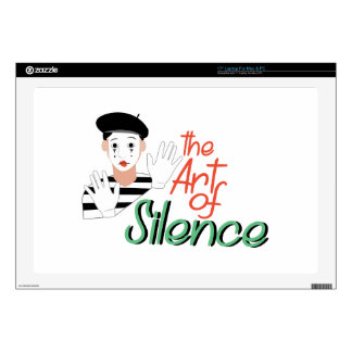 Art of Silence Laptop Skins