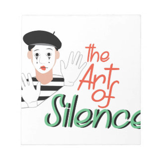 Art of Silence Notepad