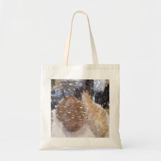 Art of some bread budget tote bag