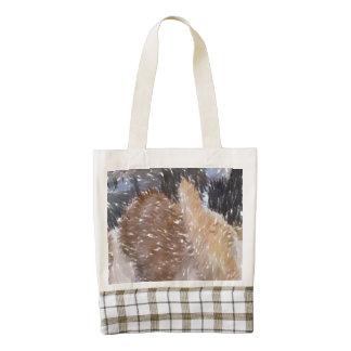 Art of some bread zazzle HEART tote bag