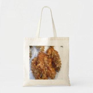 Art of some buns budget tote bag