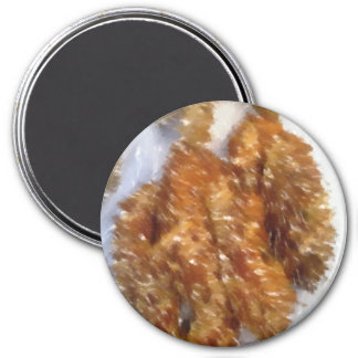 Art of some buns 3 inch round magnet
