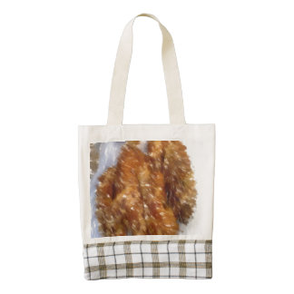 Art of some buns zazzle HEART tote bag
