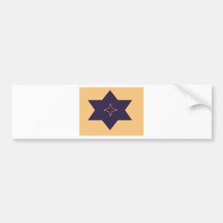 Art of Star Car Bumper Sticker