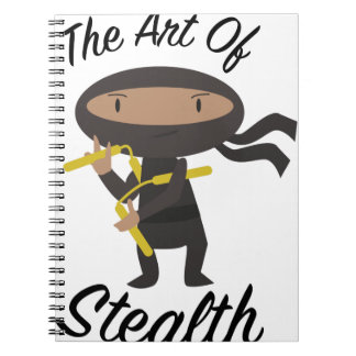 Art Of Stealth Notebook
