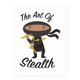 Art Of Stealth Postcard