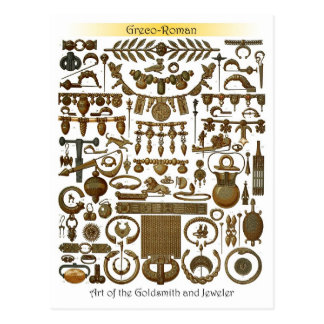 Art of the Goldsmith and Jeweler (Greco-Roman) Postcards